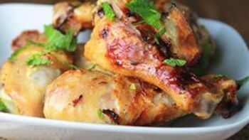 Grilled Indian Yogurt Drumsticks