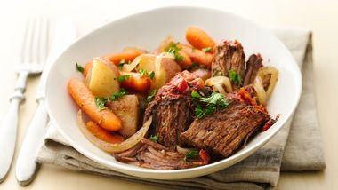 Easy Slow-Cooker Fire Roasted Pot Roast