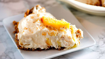 No-Bake Peach Pie