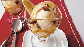 Rum-Caramel Tropical Sundaes Recipe - Tablespoon.com