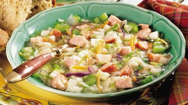German Sausage and Cabbage Soup