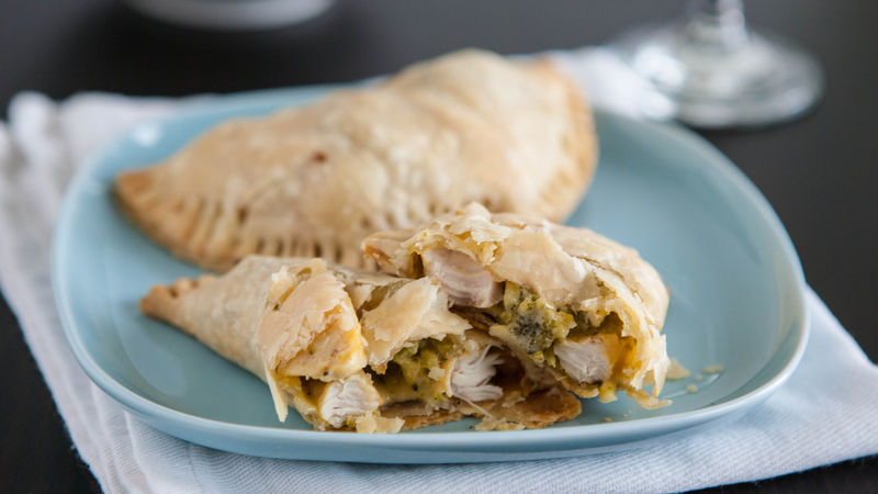 Broccoli Chicken Cheese Pie Pockets