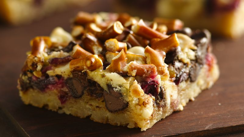 Cranberry Layer Bars