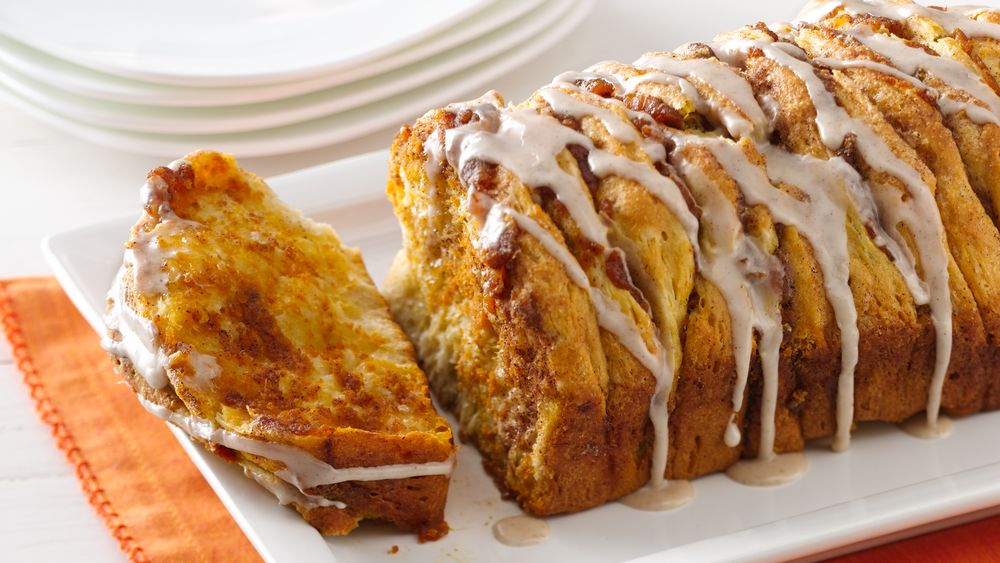Pumpkin Spice Pull Apart Bread Recipe From Pillsbury Com