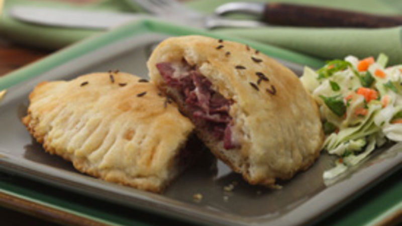 Corned Beef Biscuit Sandwiches (club store pack)