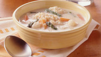 Easy Cheesy Vegetable Soup