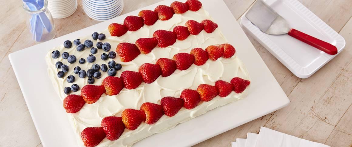 Flag Cake Recipe From Betty Crocker