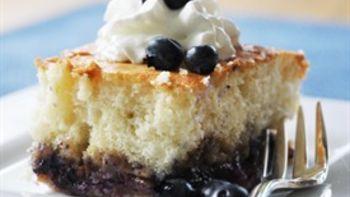 Fruit-Bottom Cake