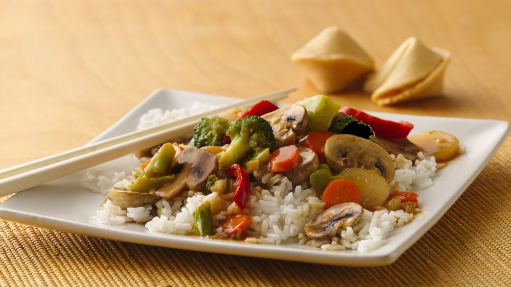 Asian Vegetable Stir-Fry