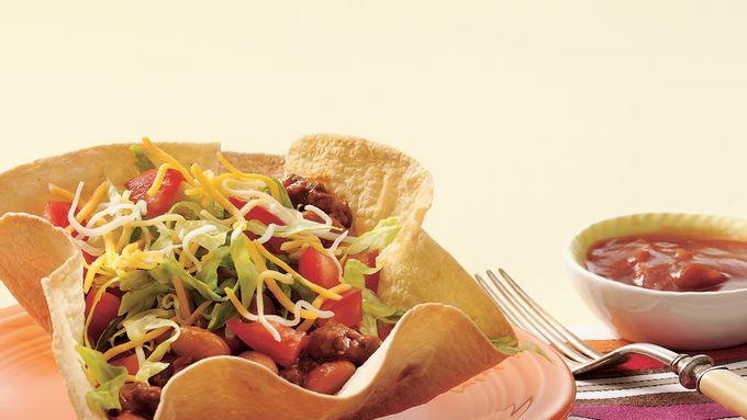 Tortilla Taco Salad