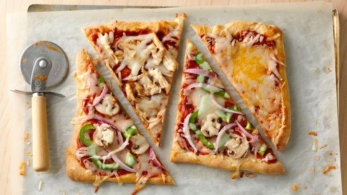 Freezer-Friendly Mix-and-Match Pizzas