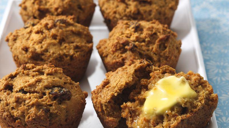 Buttermilk-Raisin Bran Muffins