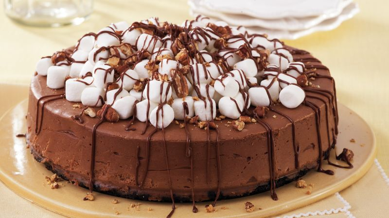 Mississippi Mud Cheesecake recipe from Betty Crocker