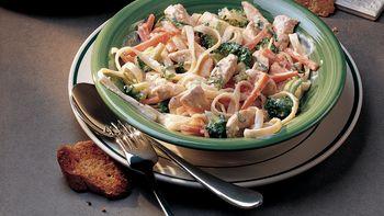 Easy Chicken-Pasta Primavera