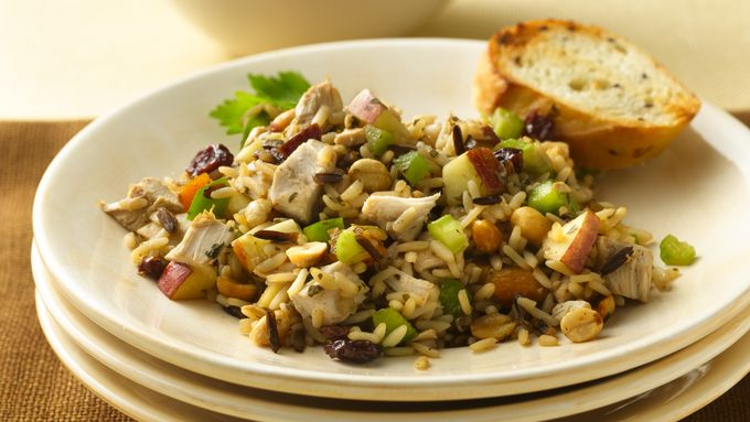 Chicken-Wild Rice Salad with Dried Cherries