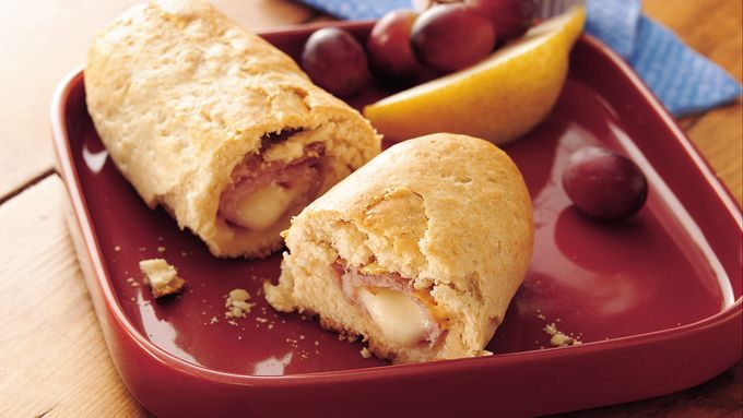 Ham and String Cheese Roll-Ups