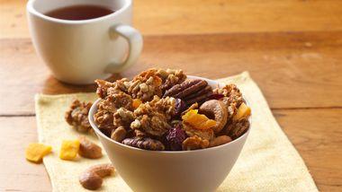 Green Tea-Honey Nut Granola
