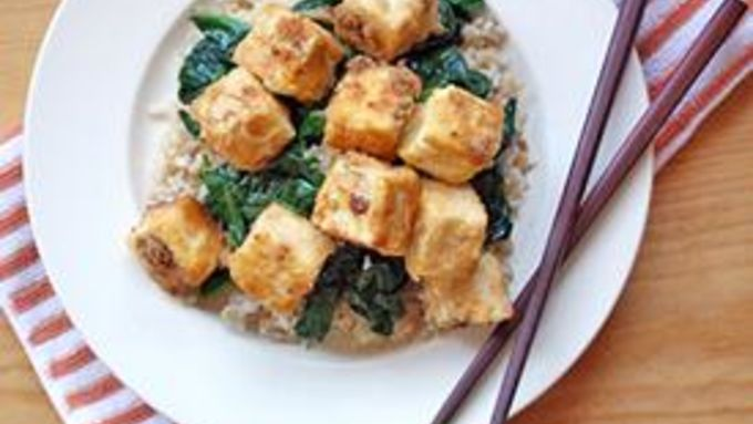 Brown Sugar-Orange Tofu