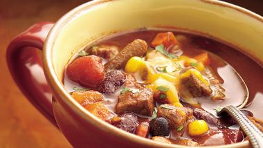 Slow-Cooker Beef-Vegetable Chili
