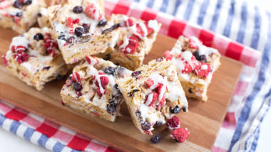Red, White and Blueberry Chex™ Bars