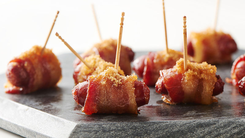 Bacon-Wrapped Little Smokies recipe - from Tablespoon!