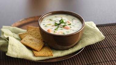 Two-Potato Ham Chowder