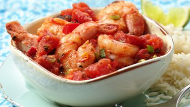 Fire-Roasted Tomato-Shrimp Veracruz