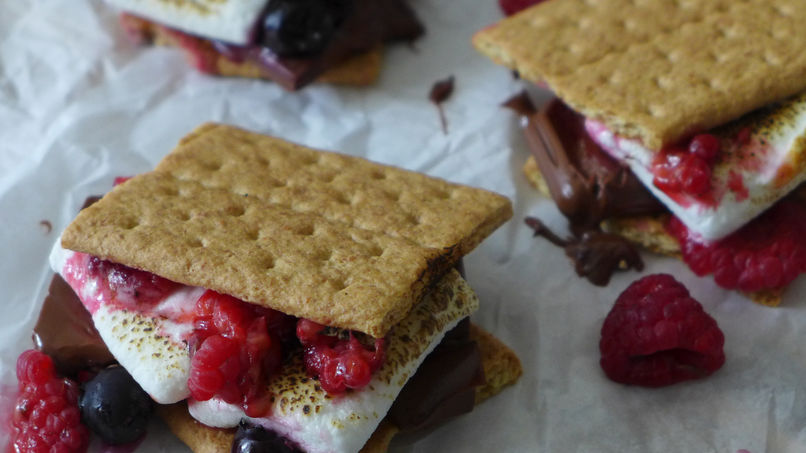 Berry S'mores