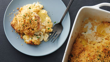 Chicken, Cauliflower and Potato Bake