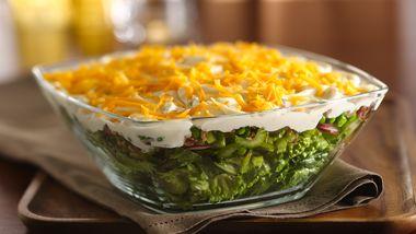 Skinny Seven-Layer Salad
