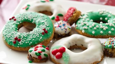 Cookie Wreaths