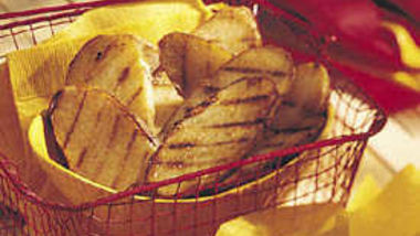 Spicy Grilled Potato Planks