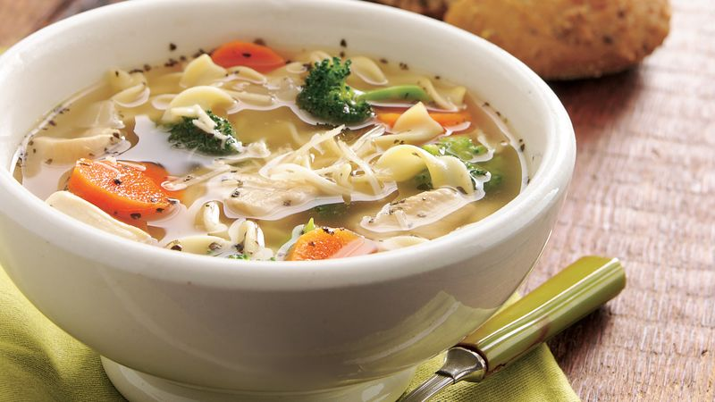 Italian Chicken Noodle Soup recipe from Betty Crocker