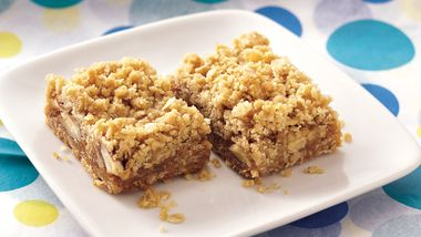 Caramel Apple-Nut Bars