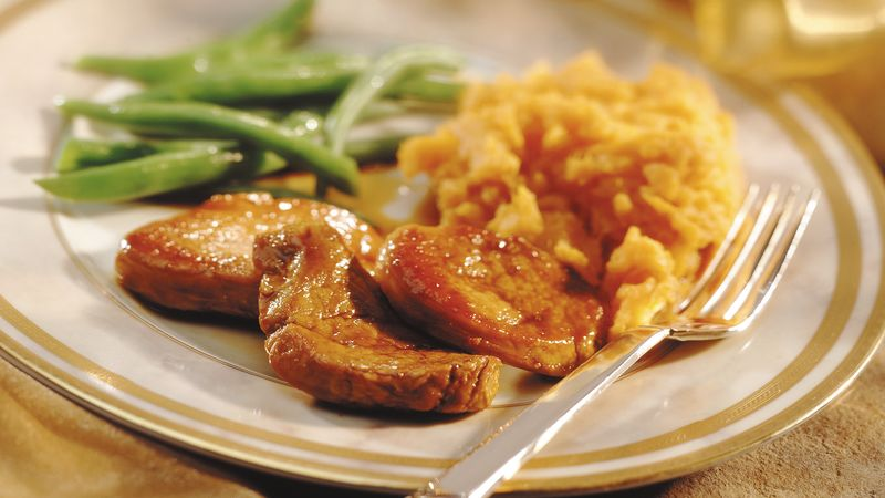 Caramelized Pork Slices