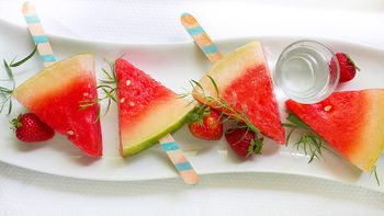 Watermelon Daiquiri Freezer Pops
