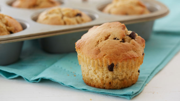 Mega-Chocolate Chip Muffins