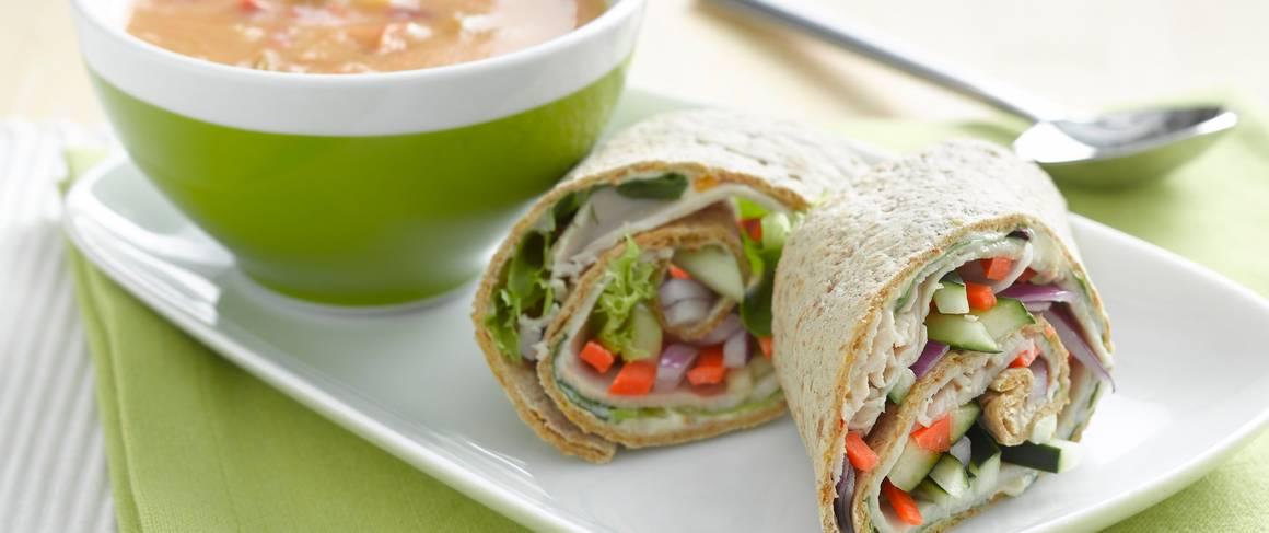 Chunky Turkey-Vegetable Soup Recipe — Dishmaps