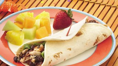 Slow-Cooker Easy Burrito Roll-Ups