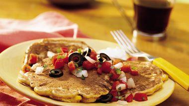 Southwest Corn Pancakes