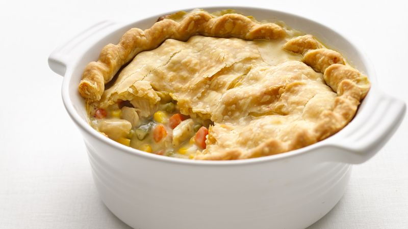 Skinny Chicken Pot Pie