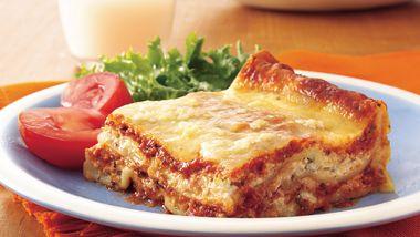 Easy Meatless Lasagna