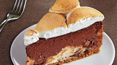 Toffee S'mores Cheesecake