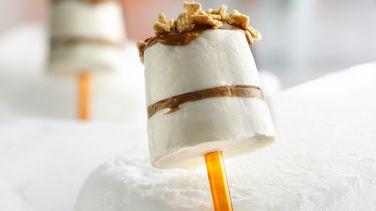 Dulce de Leche Cheesecake Paletas