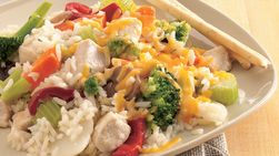 Chicken-Rice Skillet