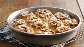 Cookies and Crescent Sweet Rolls