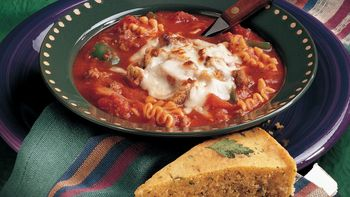 Cheesy Lasagna Soup