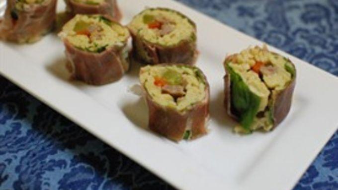 Orzo Sushi Rolls