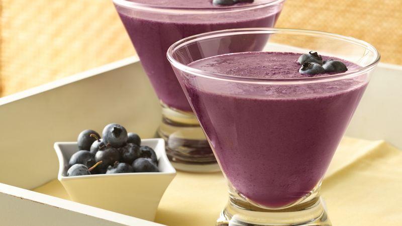 Blueberry-Pomegranate Smoothies
