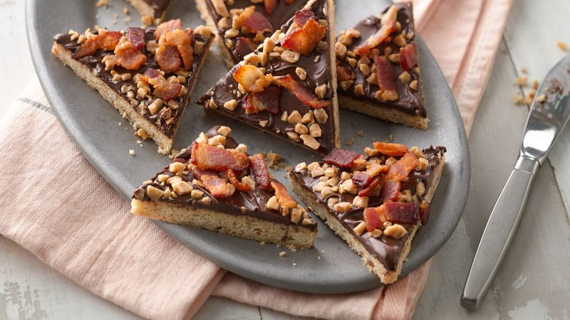 Maple Bacon Cookie Bark